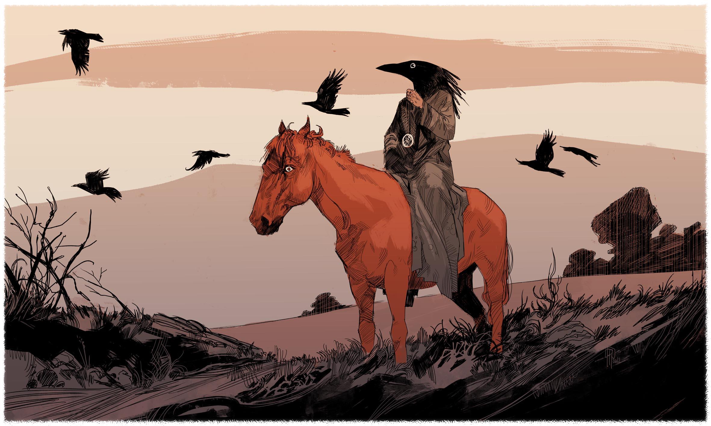 Le cavalier mélangé