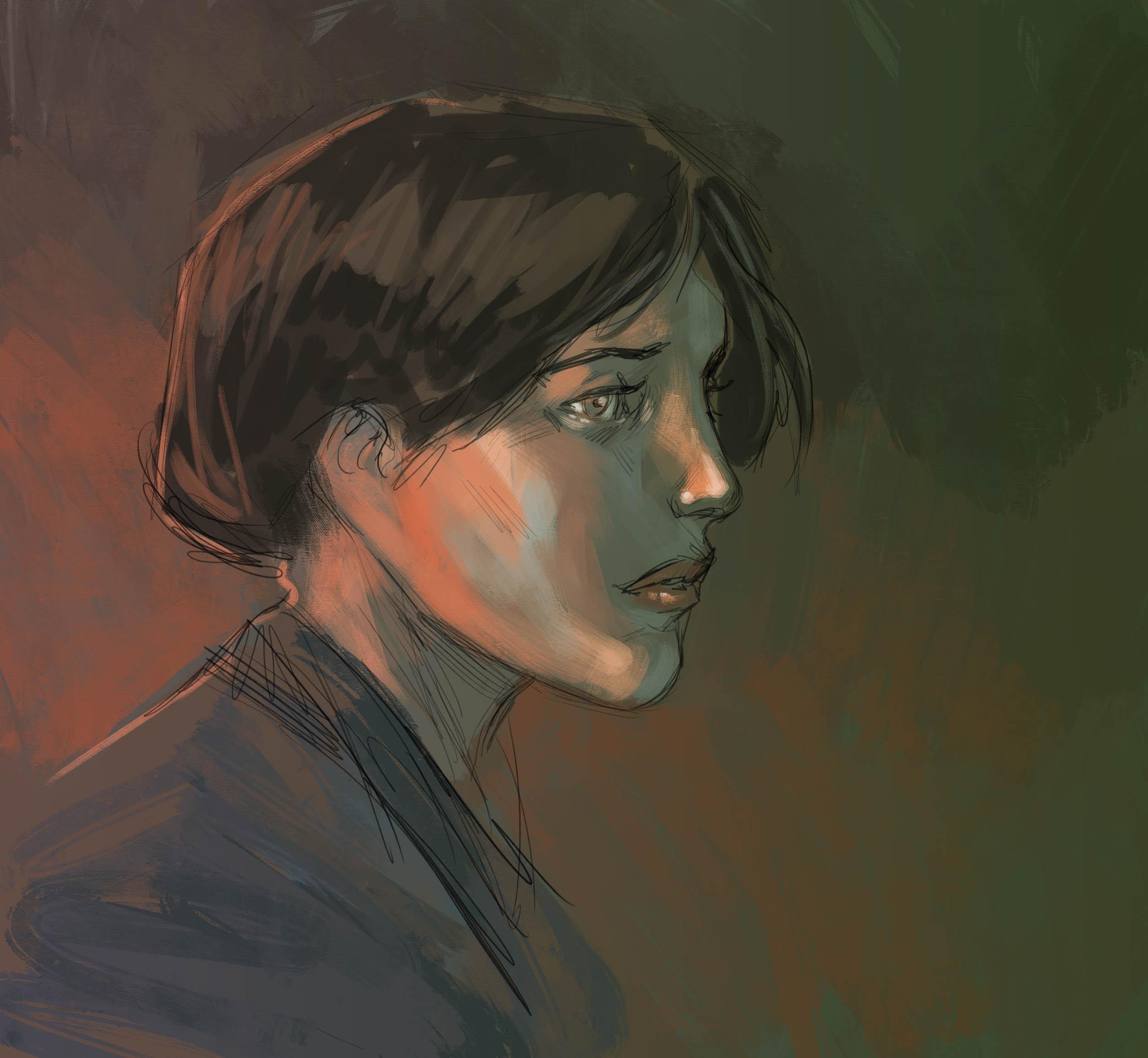 Work in Progress : portrait de femme